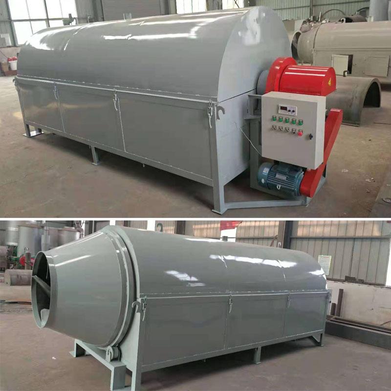 天津市电加热滚筒小型粮食烘干机生产率高,烘干成本低