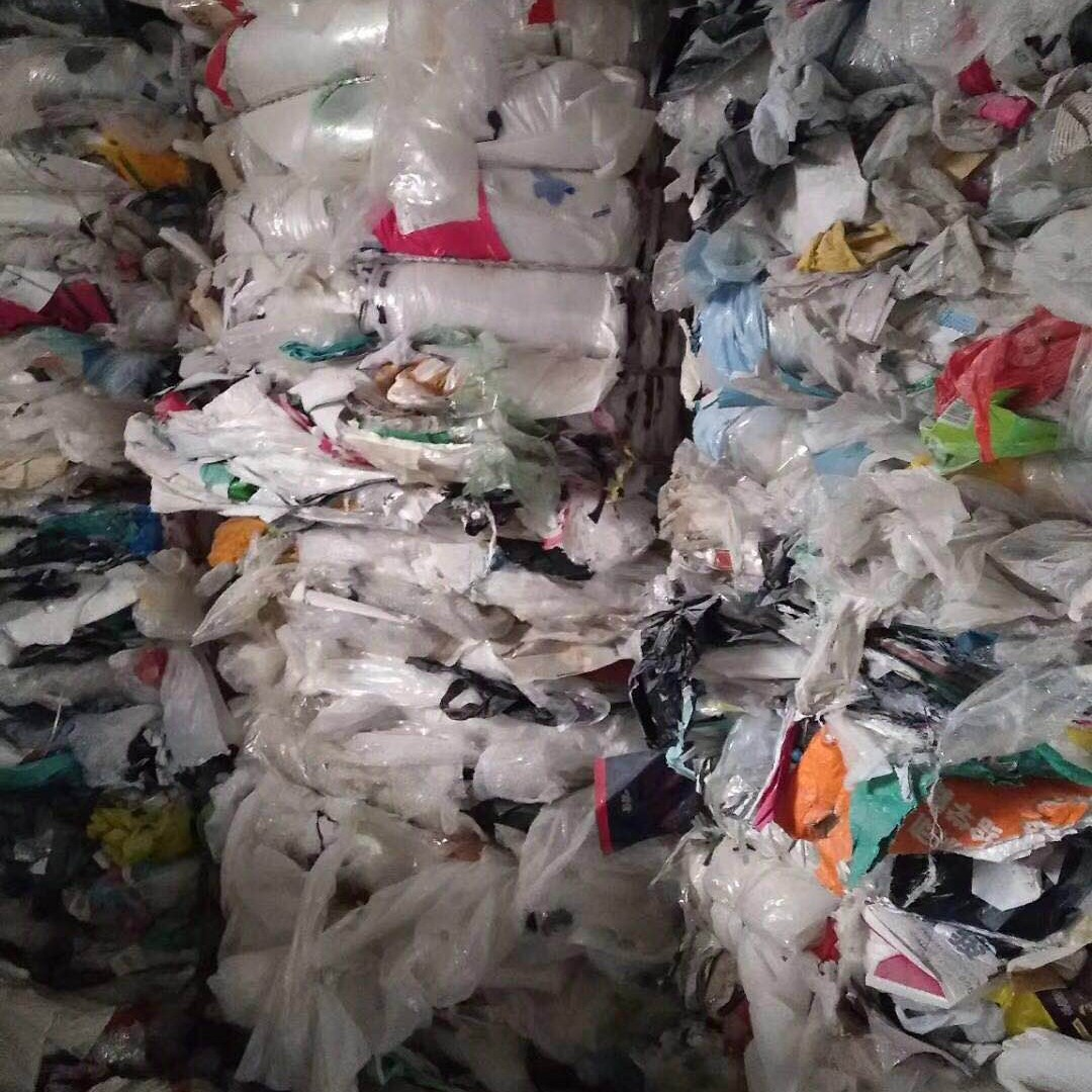 白色PP纤维袋废旧编织袋供应