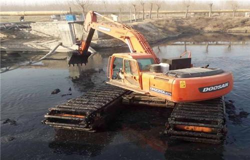 广西柳州水陆两用挖机出租处