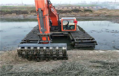 湖南衡阳湿地沼泽地挖掘机租赁有卖