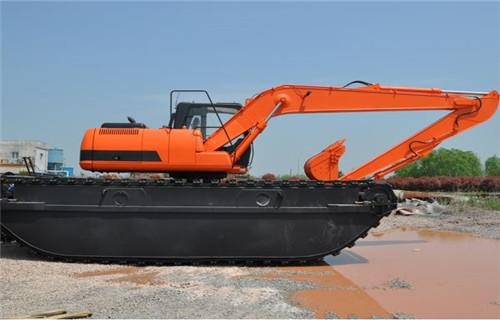 沼泽地挖掘机出租重庆巫溪专用水上挖机销售厂家
