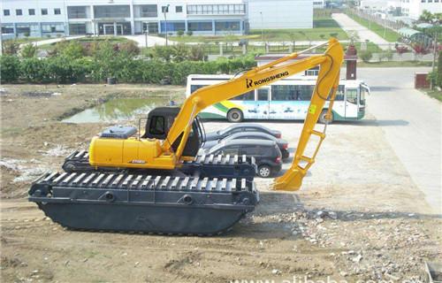 水上勾机出租甘孜藏族自治州定水上挖机浮箱供应
