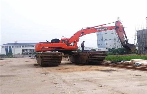 安徽阜阳水上挖机出租是什么