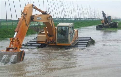 珠海大型水上钩机水挖机出租生产工艺