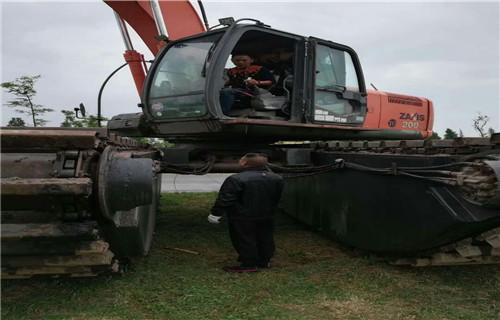 水陆两用挖机租赁巴音郭楞蒙古自治州若羌专业水陆挖机批发