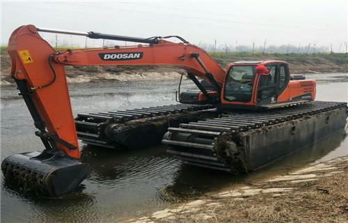 贵州六盘水水上挖机出租全国哪家好