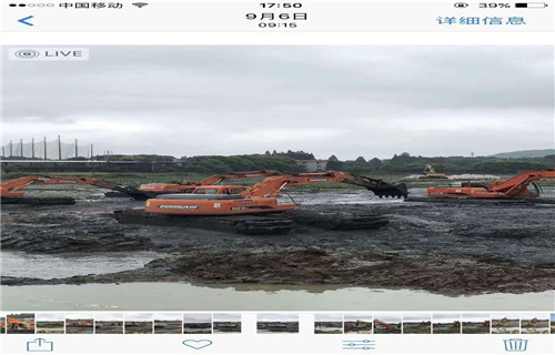 广西柳州水陆两用挖掘机租赁哪里