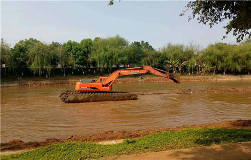 吉林白城水挖机租赁全国哪家好
