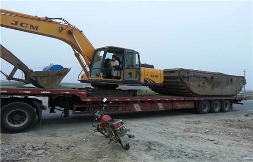 青海海西蒙古族藏族自治州专业水陆挖机湿地沼泽地挖掘机租赁工作
