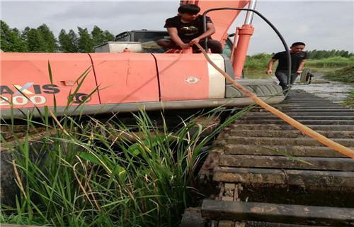 水陆两用挖机出租海北藏族自治州门源自治斗山水挖机哪个厂家口碑