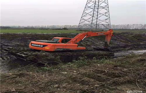 广东茂名湿地挖掘机出租有卖