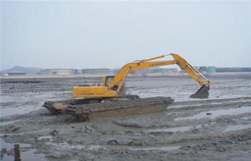广西柳州水陆两用挖掘机租赁是什么