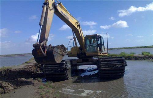 青海海北藏族自治州水上船挖机出租处