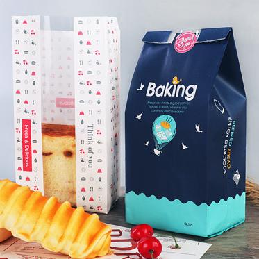 常熟面包吐司袋 牛皮纸袋烘培吐司袋 切片面包袋防油纸袋