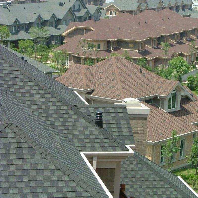 喜报:高平市沥青瓦屋顶安装